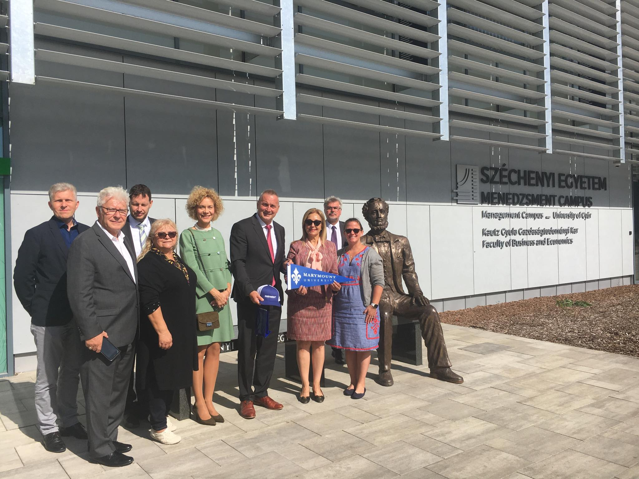 Visit of Delegation from Marymount Catholic University to Széchenyi István University