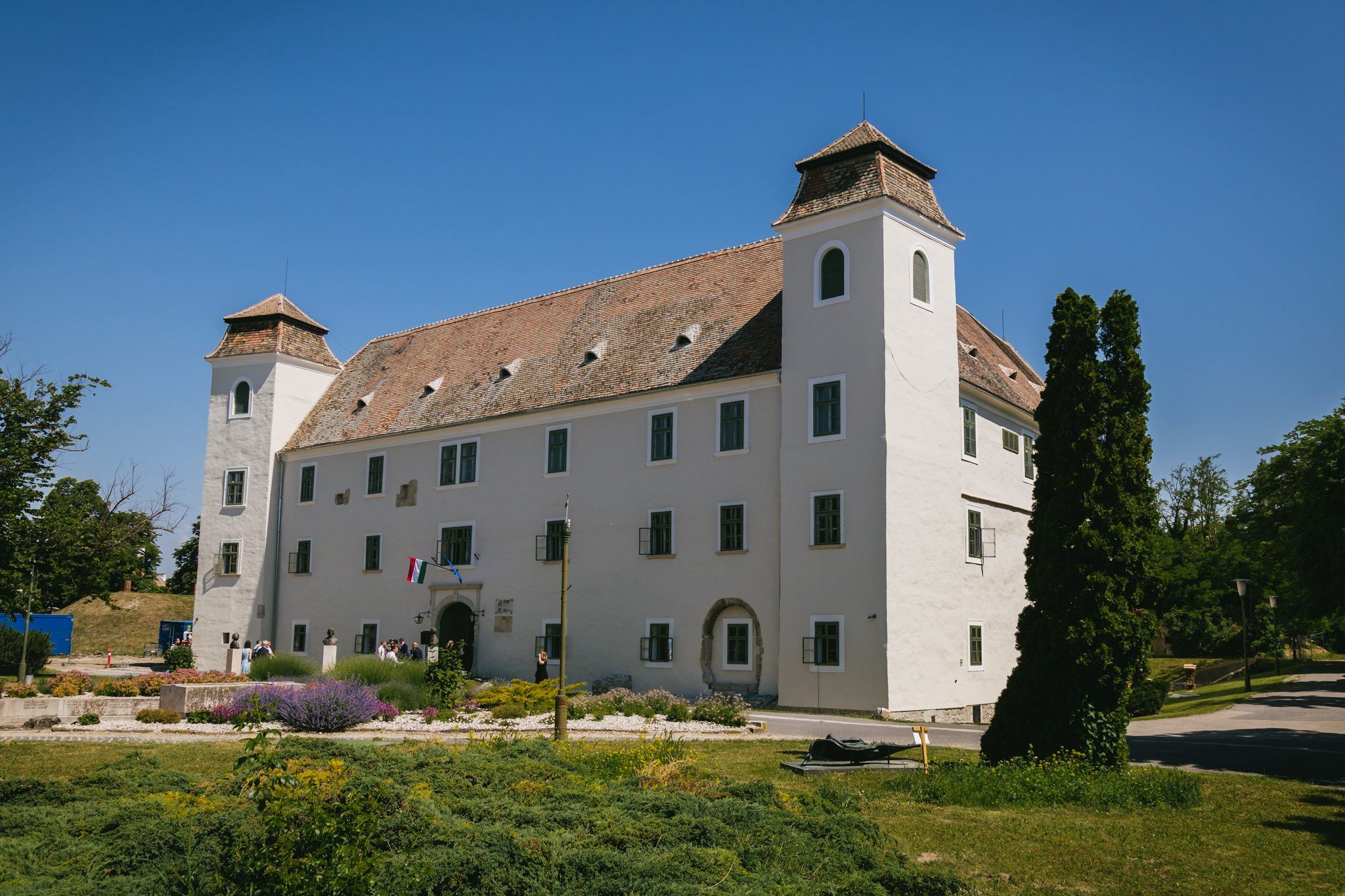 The Castle of Óvár, home to SZE's Faculty of Agriculture and Food Sciences, renovated